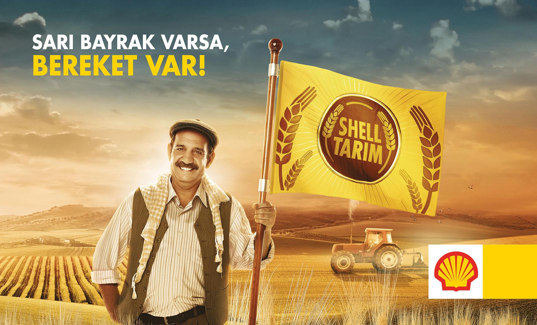 Shell Fotoğraf Çekimi